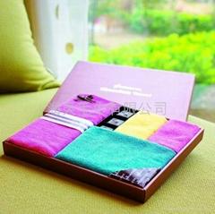商务礼盒毛巾