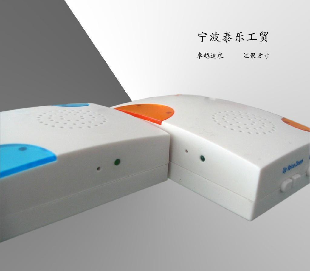 MP3 Downloadable Wireless Doorbell (WX-08) 2