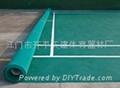 供應荔枝紋PVC塑膠彈性羽毛球場地 2