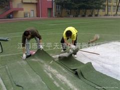 供應人造草足球場