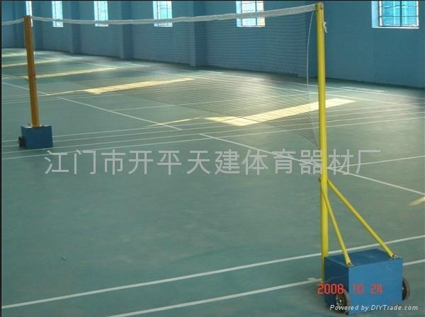 供應羽毛球挂網柱子 4
