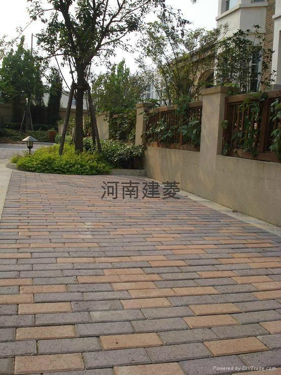 彩色通體路面磚透水磚荷蘭磚 1