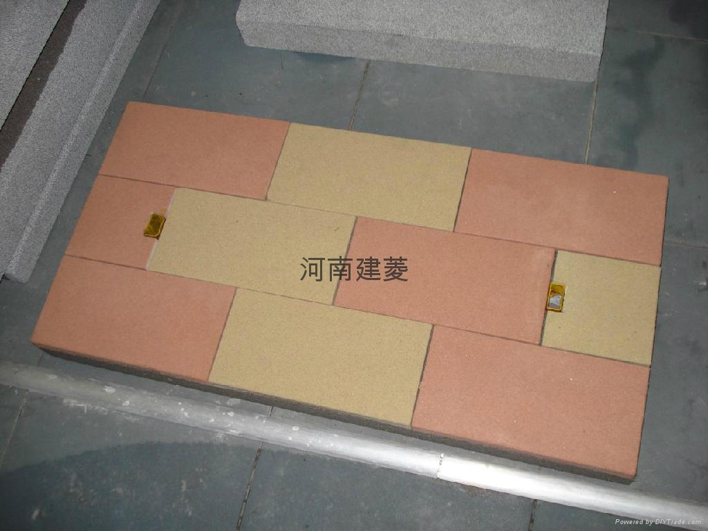 彩色通體路面磚透水磚荷蘭磚 2