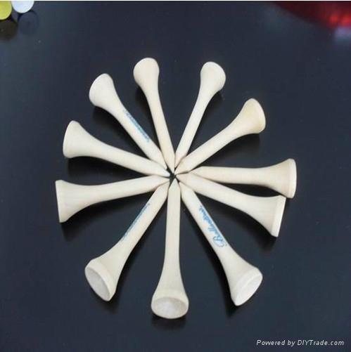 Golf Tees (Wood Bamboo Plastic) 1