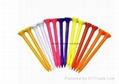 Golf Tees (Wood Bamboo Plastic) 4