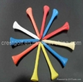 Golf Tees (Wood Bamboo Plastic) 3