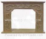 fireplace/granite fireplace/marble fireplace 2