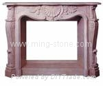 fireplace/granite fireplace/marble fireplace 3