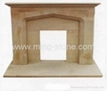 fireplace/granite fireplace/marble fireplace 4