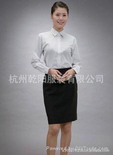 供应女式职业装衬衫 2