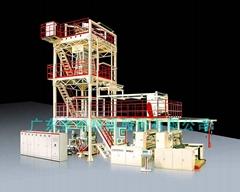 广东金明2层共挤TPU薄膜吹膜机