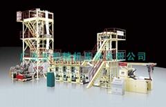 廣東金明3層共擠FFS重包膜吹膜生產線