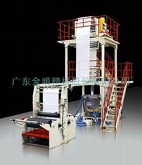 廣東金明單層高低壓聚乙烯薄膜吹膜機