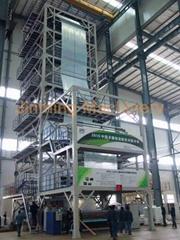廣東金明3層共擠農膜吹膜機組