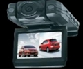 Driving car camera with dural lens and