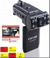 Road safety car camera with dural lens