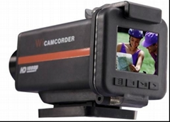 1080p HD sport camera with 150 degree wide view angle