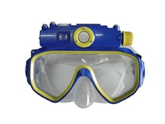 Waterproof Diving Mask Video Camera built in 4GB Memory