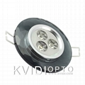 LED Crystal Ceiling Spot Lamp 3W 4 Kinds