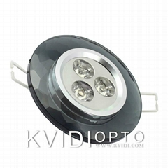 LED Crystal Ceiling Spot Lamp 3W 4 Kinds of Color