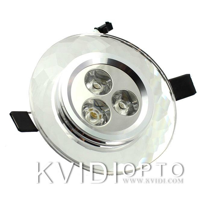 LED Crystal Ceiling Spot Lamp 3W 4 Kinds of Color 3