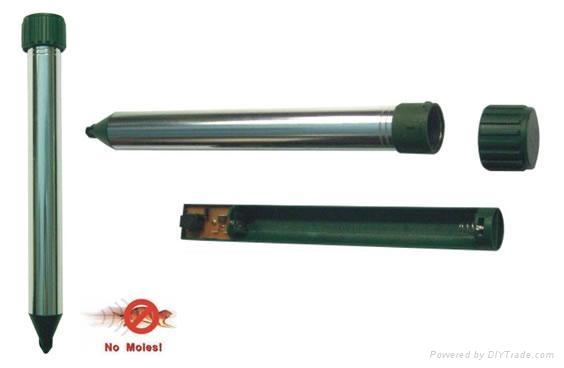 Aluminum BatteryTube Mole Repeller  2