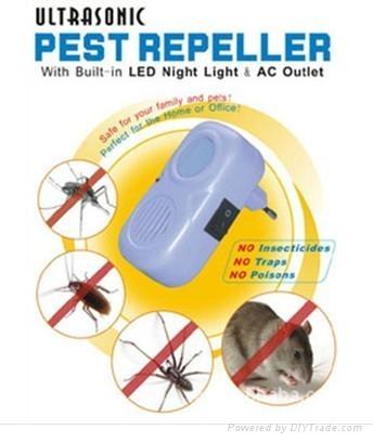 ultrasonic pest repeller  1