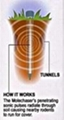 Aluminum BatteryTube Mole Repeller  4