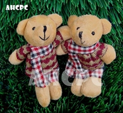 "Hot selling Plush Teddy Bear/ Christmas Decoration 12mm(4""-5"")"