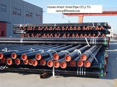 API 5L/ASTM A106 seamless pipe for gas transportation