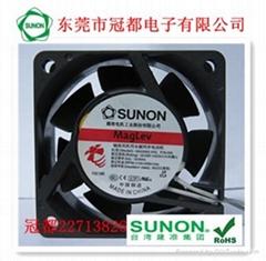 SUNON軸流風機用永磁同步電動機風扇