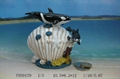 Resin Killer Whale Figurine Fridge Magnet Money Box Photo Frame Pen Container