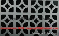 Blossom Shape Perforated Metal