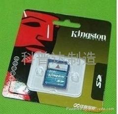 金士頓SD卡2GB
