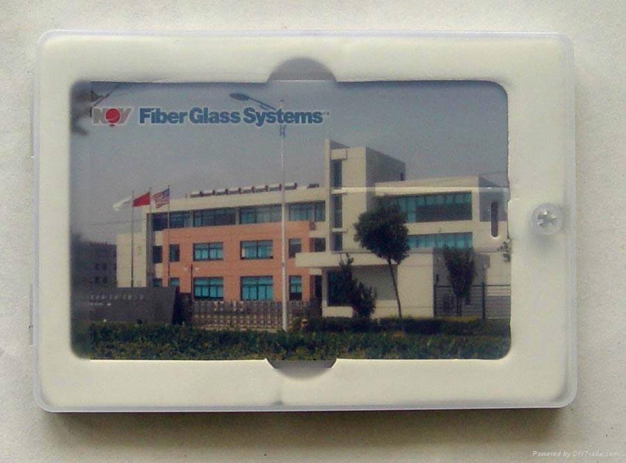 廠家直銷2GB卡片U盤可自訂企業廣告禮品彩印LOGO 3