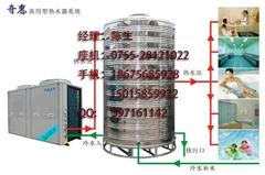 工厂宿舍空气能热水器工程