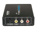HDMI to Composite/S-video Converter with AV Cable and 5V/1A Power Supply 3