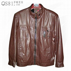 Men's Wear Leather Jacket