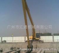 河道清淤、码头建设等挖掘机加长臂
