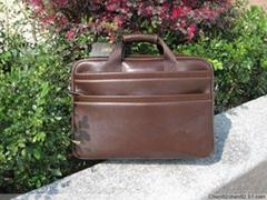 New open store Genuine Leather Mens Handbag Bag Briefcases Laptop
