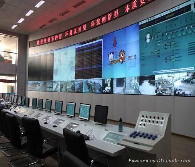 三菱電機70系列LED光源DLP拼接顯示牆 3
