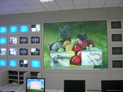 DLP大屏幕背投顯示牆 60寸箱體單元(雙燈 標分)