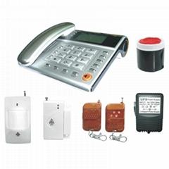 安博士電話機型防盜報警器