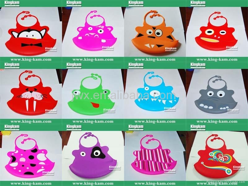 Silicone toddler bib  3