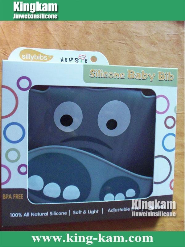 Silicone toddler bib  4