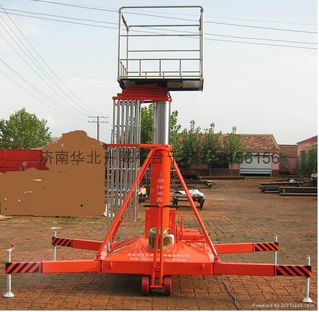套缸式液压升降机 - sjpt-30b图片