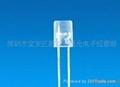 供應高亮LED F5MM平頭內凹LED 黃色發光二極管LED 1
