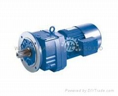 HS series helical-worm gear reducer