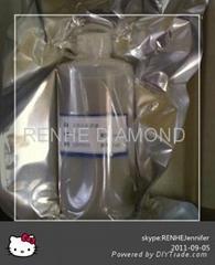 Synthetic diamond polishing slurry