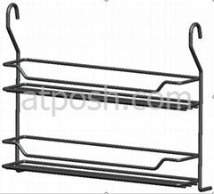 Double-layer Narrow Hanging Rack